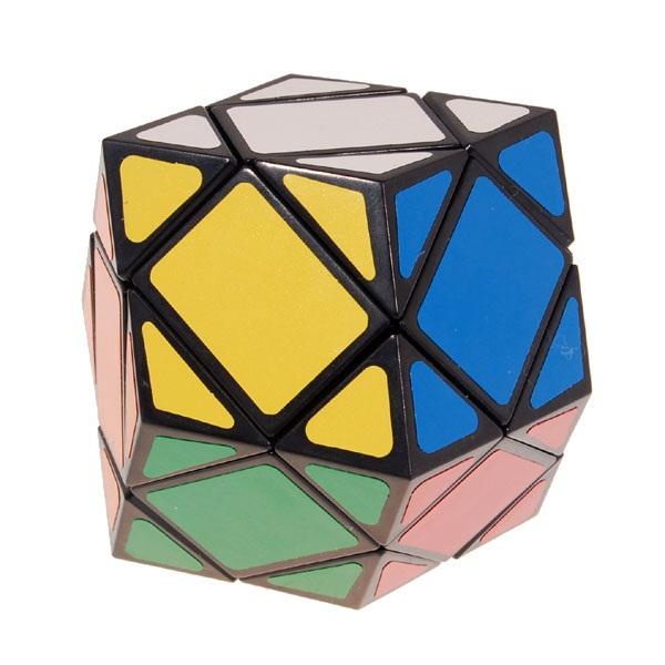 Lanlan 6 Axis Megaminx Magic Intelligence Test Cube Black