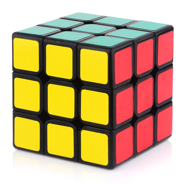 Ganspuzzle III 3x3x3 Speed Cube Magic Cube Black3x3x3