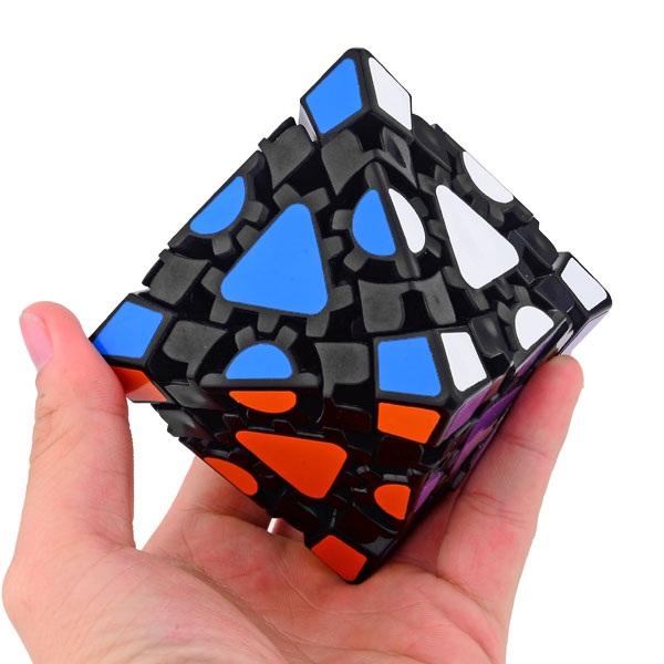 LanLan Gear Octahedral Magic Cube Black