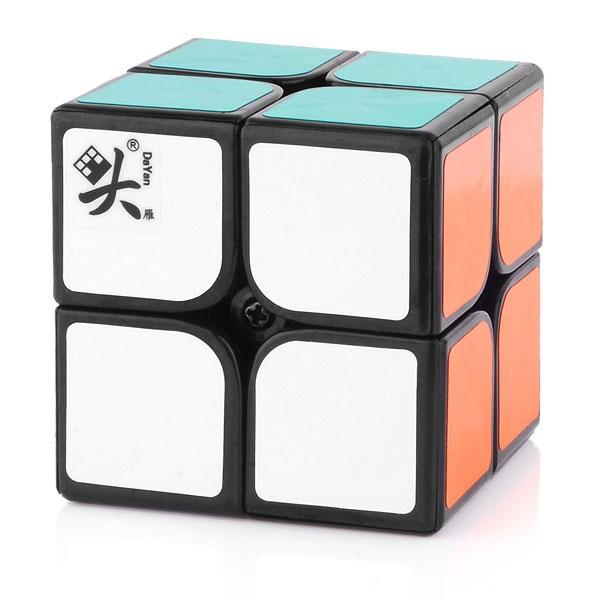 Dayan Zhanchi 2x2 V2 Magic Cube 50mm Black 2x2x2 Mini Cube Cubezz Com Professional Puzzle Store