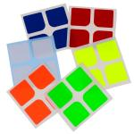 Supersede Half-bright Oracal Cube Stickers for DaYan 2x2 Mag...