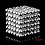 216pcs 3mm Magnetic Balls Magnet Spheres Silver