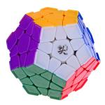 DaYan Megaminx Dodecahedron Magic Cube with Corner Ridges Colored