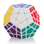Shengshou Megaminx Dodecahedron Magic Cube White