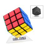 CubeTwist Bandaged 3x3x3 Magic Cube DIY Kit Black