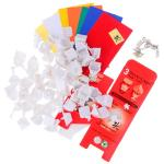 50mm DaYan V ZhanChi Magic Cube DIY Kit White