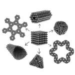 216pcs 5mm Magnetic Balls Puzzle Toy Black