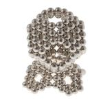 216pcs 3mm Magnetic Balls Puzzle Toy Silver