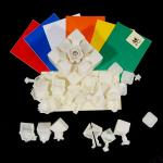 DaYan V ZhanChi Magic Cube DIY Kit Cloudy White