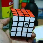 X-Cube 4 Magic Cube DIY Kit Black