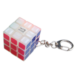 Maru Luminous 3x3x3 Magic Cube Keychain