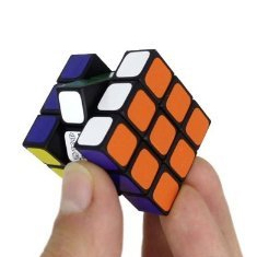 Maru Mini 3cm 3x3x3 Magic Cube Black