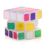 Maru Luminous Mini 3cm 3x3x3 Magic Cube Transparent