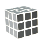 Maru 3x3x3 Gray Layer Magic Cube
