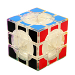 3x3x3 Lanlan Void Hollow Magic Cube Transparent