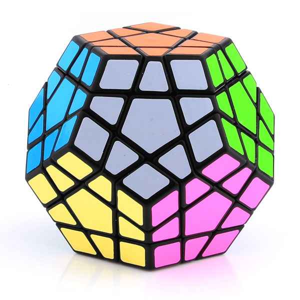 Shengshou Megaminx Dodecahedron Magic Cube Black Megaminx Gigaminx Teraminx Cubezz Com