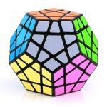 Shengshou Megaminx Dodecahedron Magic Cube Black