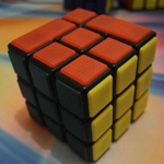 CubeTwist 3x3x3 Bandaged Magic Cube Black