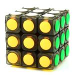 YJ LingGan 3x3x3 Dot Magic Cube Black