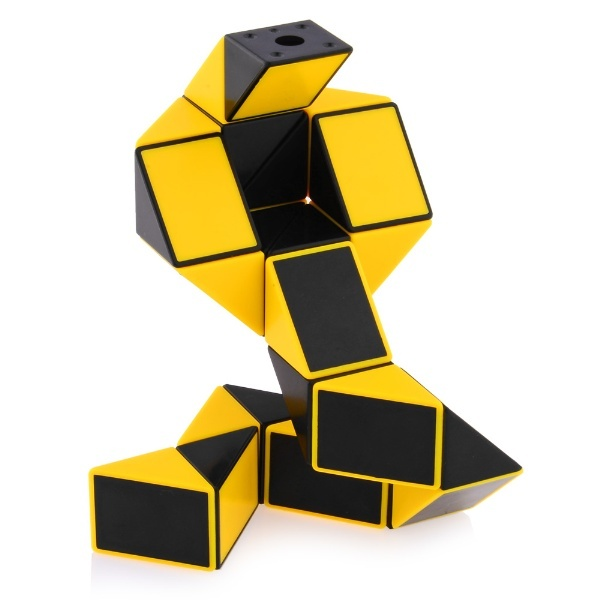 768465ba75bcb ShengShou Magic Snake Ruler Puzzle 24-Pieces Yellow_Non-Twisty ...