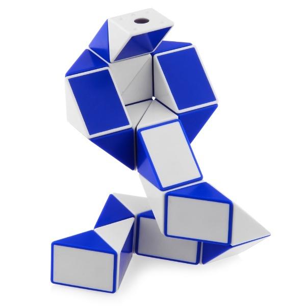 9bae35eaabf47 ShengShou Magic Snake Ruler Puzzle 24-Pieces Blue_Non-Twisty ...