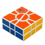QJ 2x3x3 Super 2-Layer Square-1 Magic Cube White