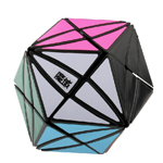 YJ MoYu Evil Eye I - Close Eye Rhombic Dodecahedron Magic Cube Black