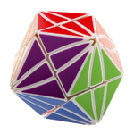 YJ MoYu Evil Eye I - Close Eye Rhombic Dodecahedron Magic Cu...