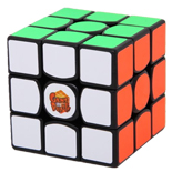 Ganspuzzle III 57mm 3x3x3 Speed Cube Magic Cube Black Gans3-...