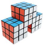 CubeTwist Triple Conjoined 3x3x3 Magic Cube Black