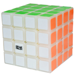 MoYu AoSu 4x4x4 Speed Cube 62mm Cloudy White