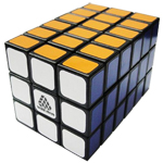 WitEden Full Function 3x3x6 Magic Cube Black