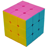 MoYu Mini 54.5mm Stickerless WeiLong Version II (Enhanced Version) Speed Cube