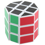 DIY Cylinder 3x3x3 Magic Cube White