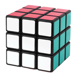 ShengShou Wind 57mm 3x3x3 Extreme Smooth Magic Cube Black