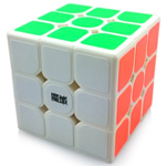 YJ MoYu DianMa 3x3x3 Magic Cube White