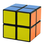 ShengShou 2x2x2 Screw Spring Magic Cube Black