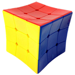 GUOM Concave Stickerless 3x3x3 Magic Cube