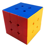 YJ MoYu DianMa 3x3x3 Stickerless Magic Cube Standard Color