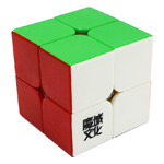 YJ MoYu LingPo Stickerless 2x2x2 Magic Cube