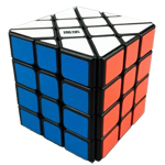 YJ MoYu AoSu 4x4x4 Fisher Cube Black