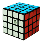 Type C WitFour 4x4x4 Speed Cube 62mm Black