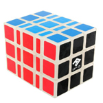 Fully-Functional Shape-Shifting 3x3x5 V2 Magic Cube Transpar...