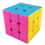 MoYu Mini AoLong Stickerless Magic Cube 54.5mm Pink Version