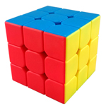 MoYu Mini AoLong Stickerless Speed Cube 54.5mm Fluorescent C...