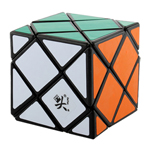 DaYan Dino F-Skewb Magic Cube Black