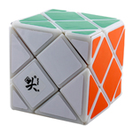 DaYan Dino F-Skewb Magic Cube White