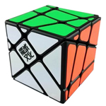 YJ MoYu Crazy YiLeng Fisher Speed Cube Black