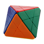 LanLan 4-Layer Octahedral Stickerless Magic Cube Puzzle