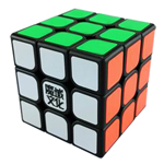 YJ MoYu AoLong V2 3x3x3 Speed Cube Enhanced Edition Black